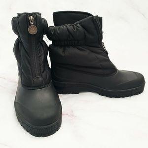 SOREL Womens Sz 11 Black Waterproof Winter Boots